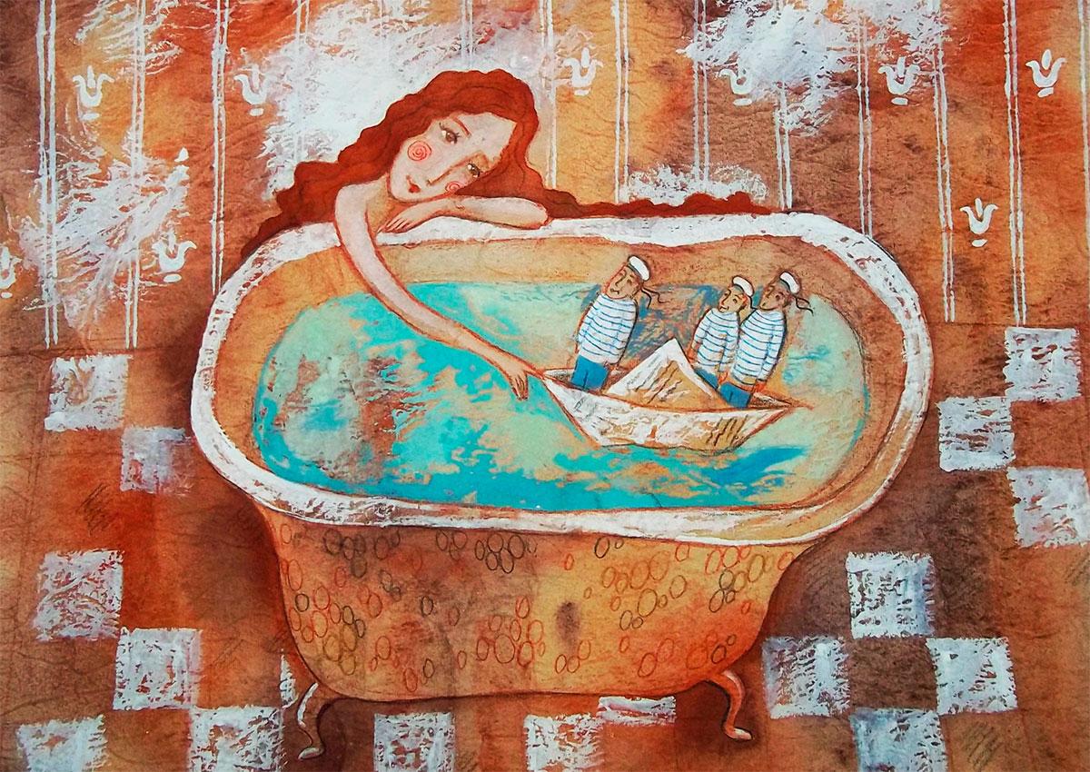 правильная ванная спасает от конфликта с соседями
