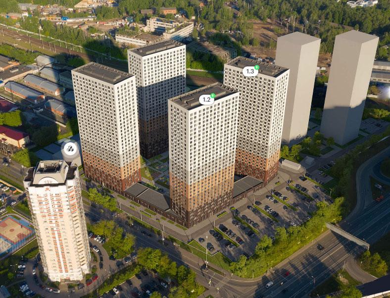 старт продаж первая очередь строительства ЖК «Большая Очаковская 2»