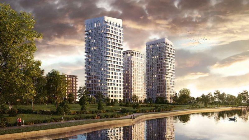 ЖК «Остров», который компания «Донстрой» начинает строить в Мневниковской пойме