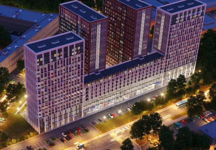 ГК «Гранель» построит в ЮВАО комплекс апартаментов HighWay