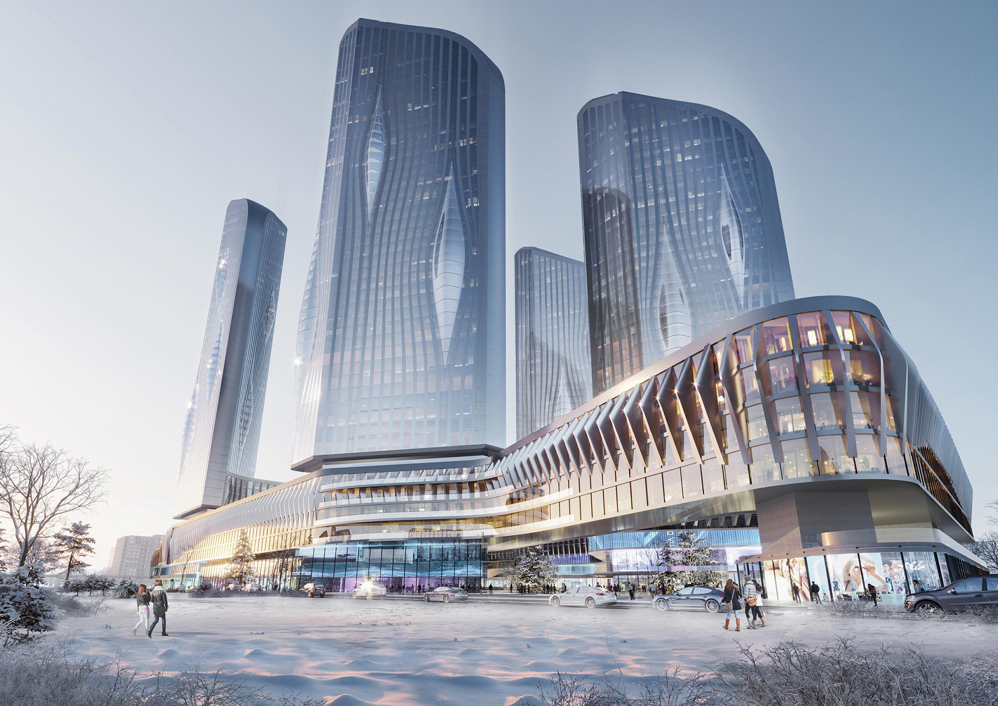 «Крост» анонсировал новый проект в Хорошево-Мневниках