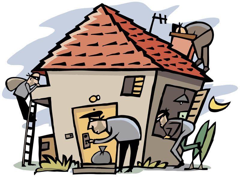 входная дверь - как попадают воры в дом