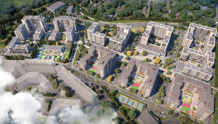 Микрозоны во дворе: у ЖК «Испанские кварталы» новая концепция благоустройства