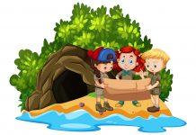 Пещерные дети: необычный детский сад в новостройке Москвы