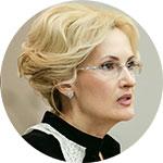 Ирина Яровая, вице-спикер Госдумы