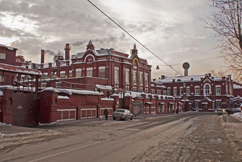 экс завод Кристалл в Лефортово