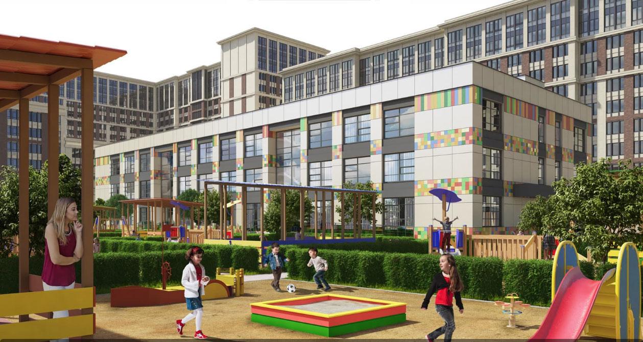 детский сад в ЖК «Наследие»