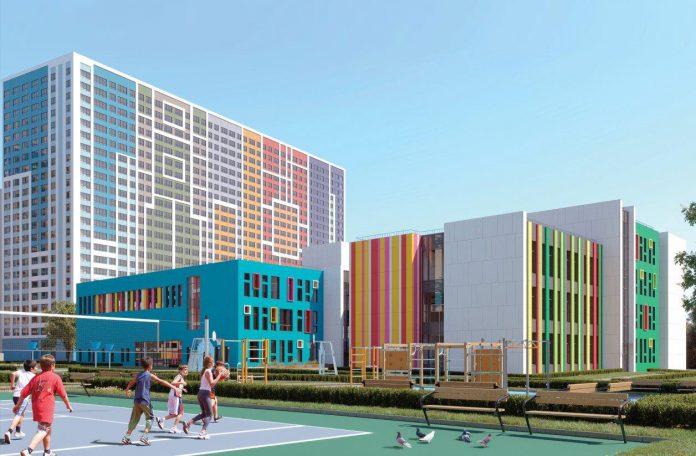 ЖК Эталон-Сити, группа Эталон, Эталон, новая школа, детский сад, застройщики